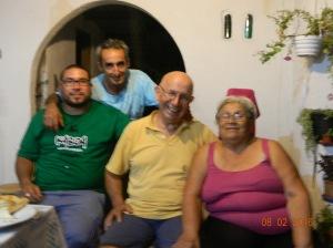Cumpleaños 73 de Angel junto a Adela,Sebastian y Jorge