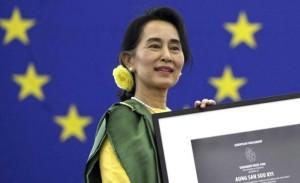 Nobel de la Paz Aung San Suu Kyi