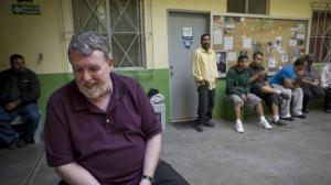 Padre Murphy, en la Casa del Migrante