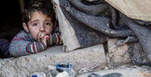 Siria: 1 de cada 3 niños solo ha vivido tiempos de guerra