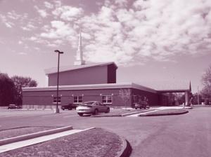 Templo pentecostal en Estados Unidos