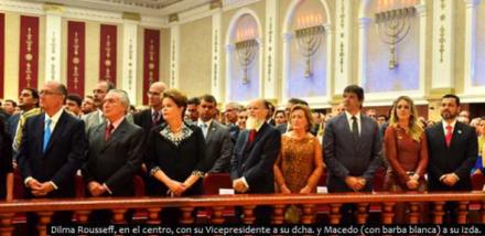 Inauguración del mayor  templo brasilero: Iglesia Universal