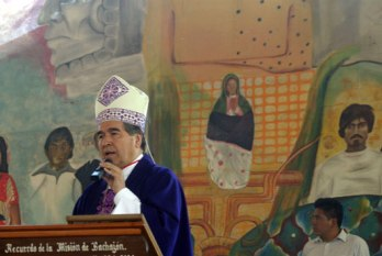 El obispo Arizmendi