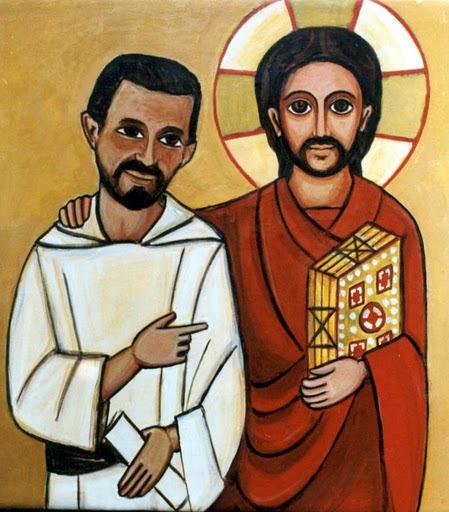imagen del hermano carlos, con su amigo Jesus