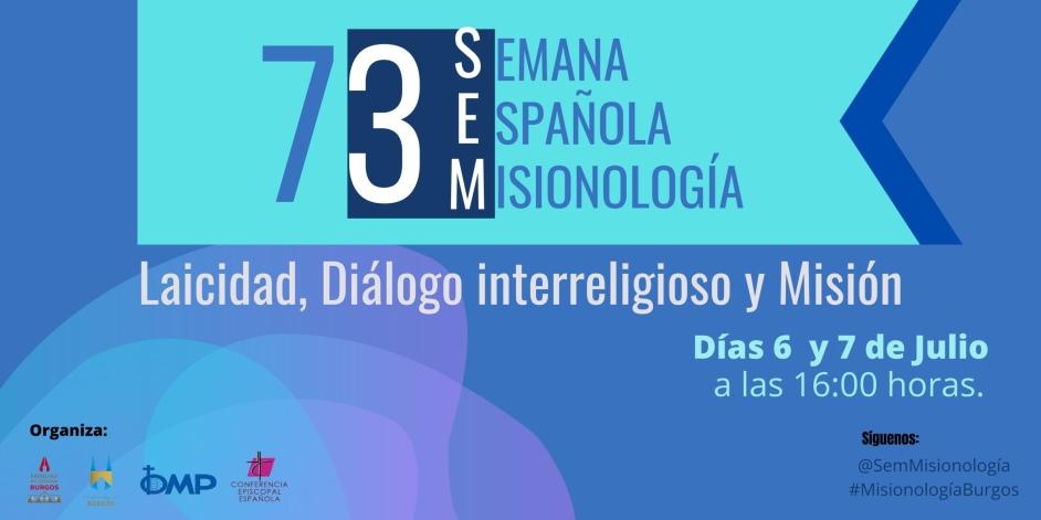 cartel de la 73 semana española de misionologia